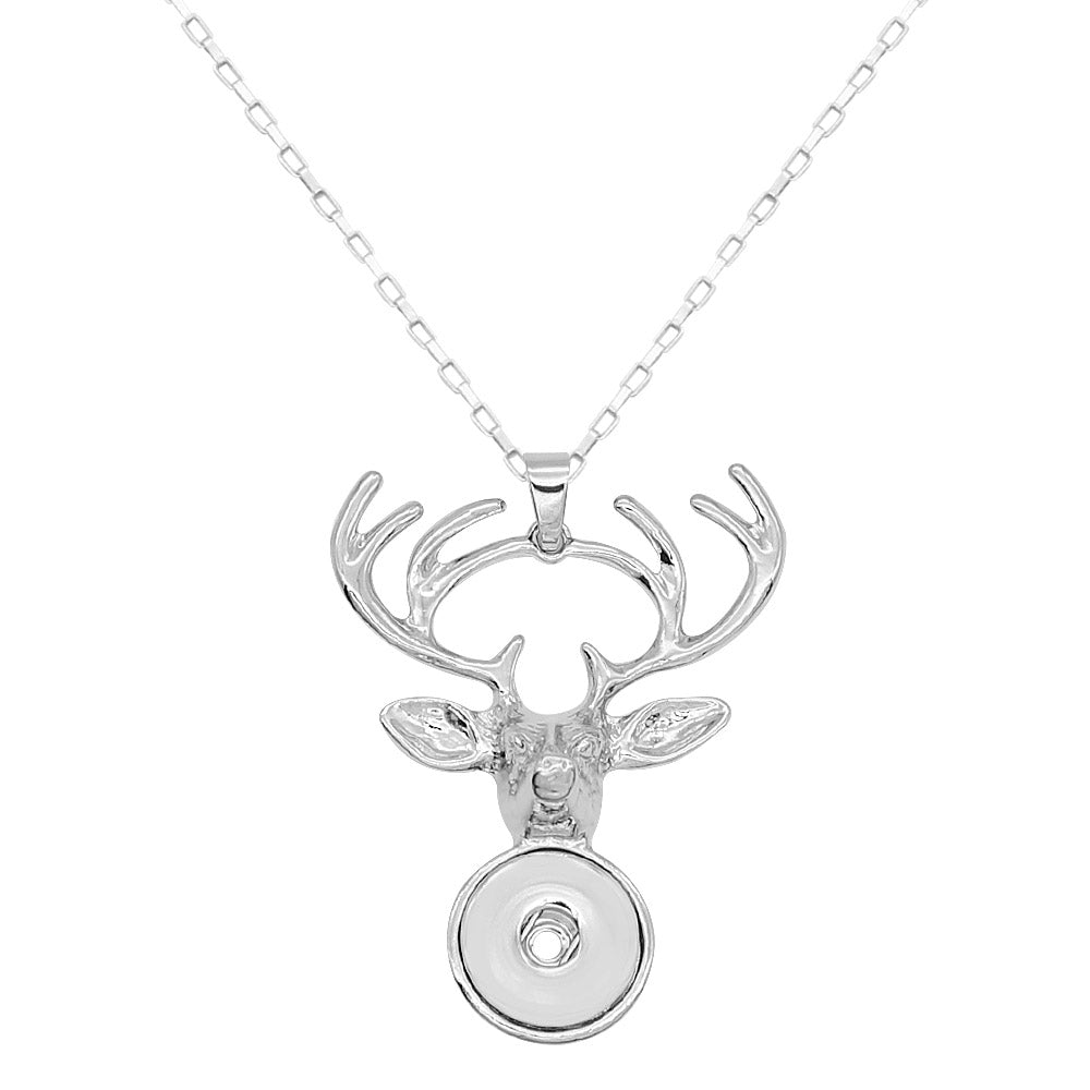 Elegant Elk Necklace - Gracie Roze