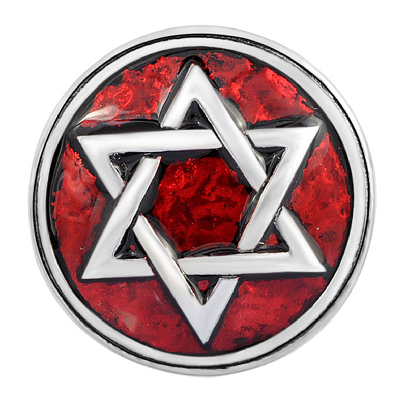 Red Star of David Snap - Gracie Roze