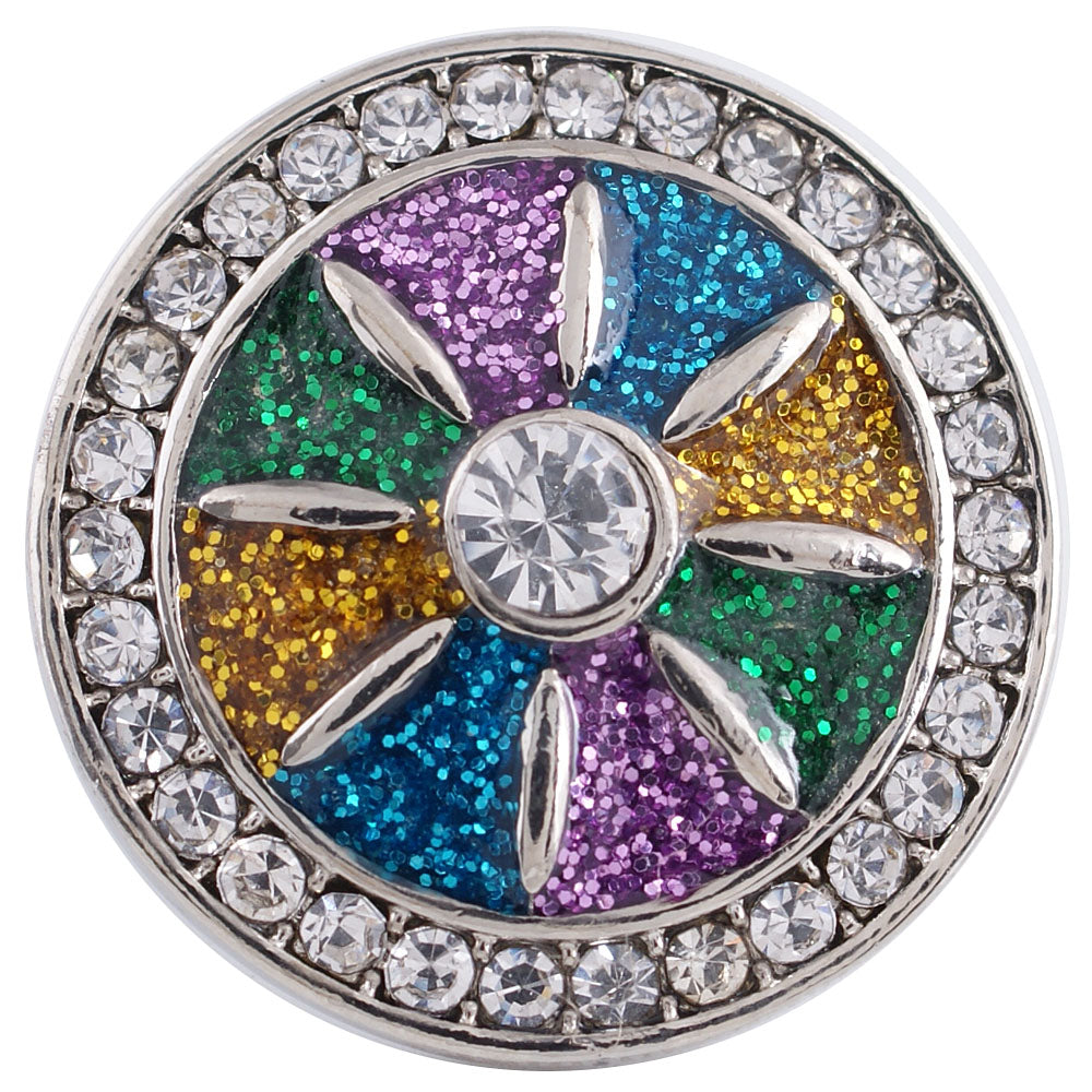 Color Wheel Snap - Gracie Roze Yourself Expression Snap Jewelry