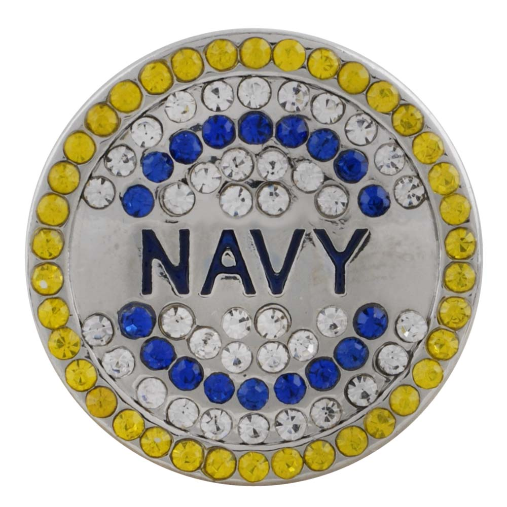 Military Navy Snap - Gracie Roze Yourself Expression Snap Jewelry
