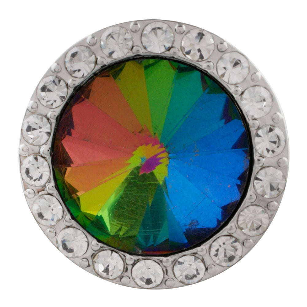 Crystal Rainbow Snap - Gracie Roze Yourself Expression Snap Jewelry