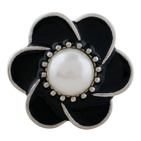 Pearl Black Flower