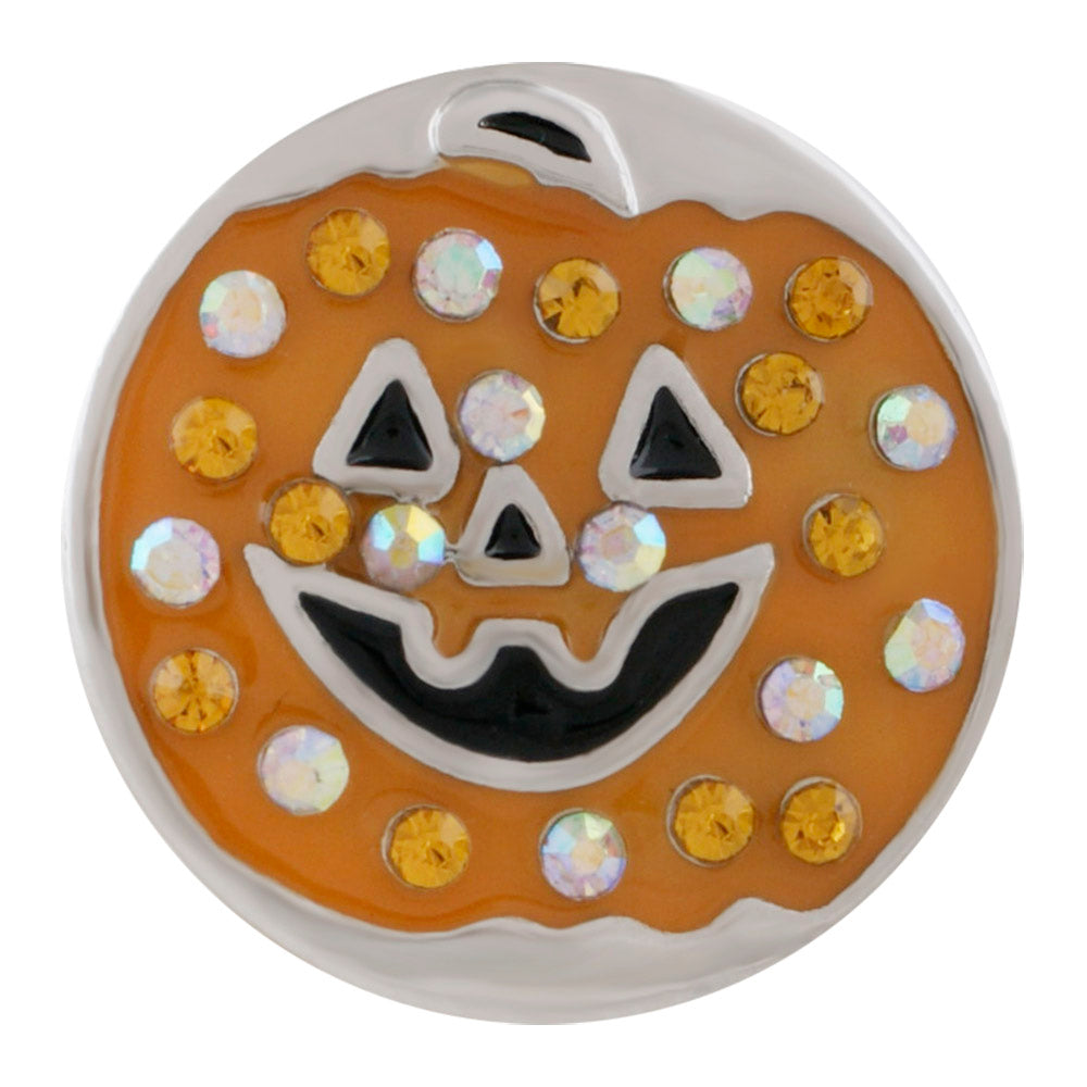 Pumpkin Patch Snap - Gracie Roze Yourself Expression Snap Jewelry