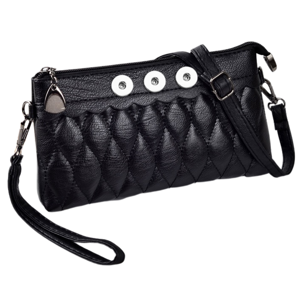 Three Snap Wrislet Crossbody - Gracie Roze