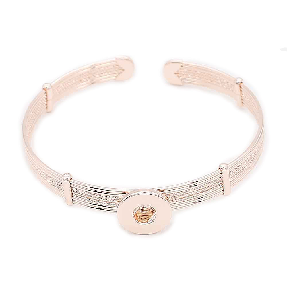 Rose Gold Layered Mini Cuff - Gracie Roze