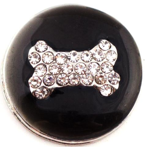 Crystal Dog Bone Snap