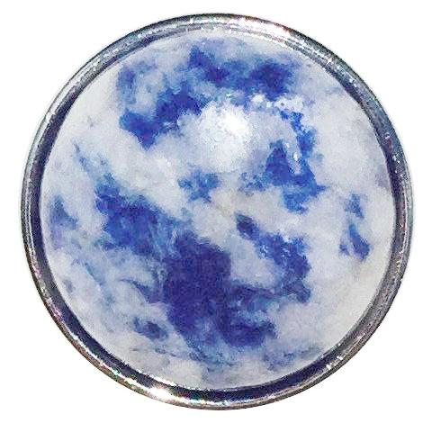 Blue and Grey Marbled Stone Snap
