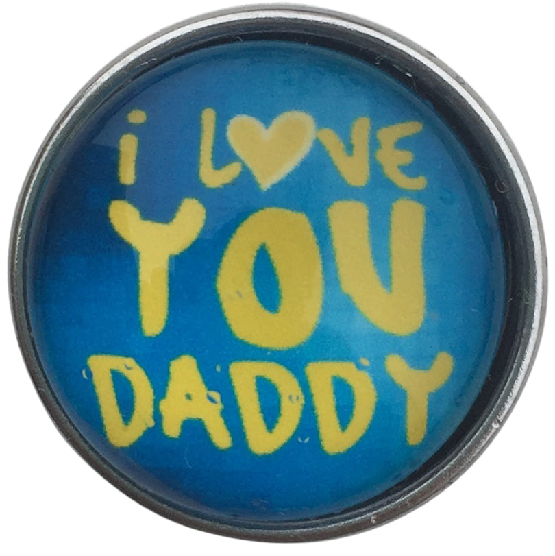 Blue Love You Daddy Snap