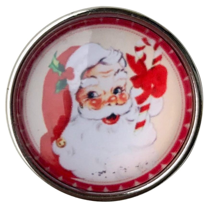 Christmas Santa Candy Cane Snap