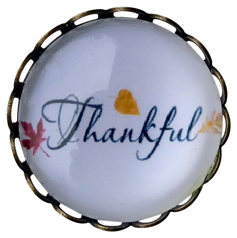 Thankful Snap - Gracie Roze Yourself Expression Snap Jewelry