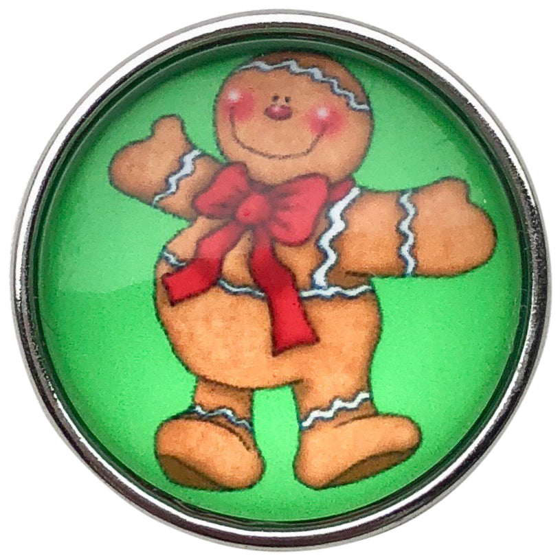 Gingerbread Jolly Man Snap