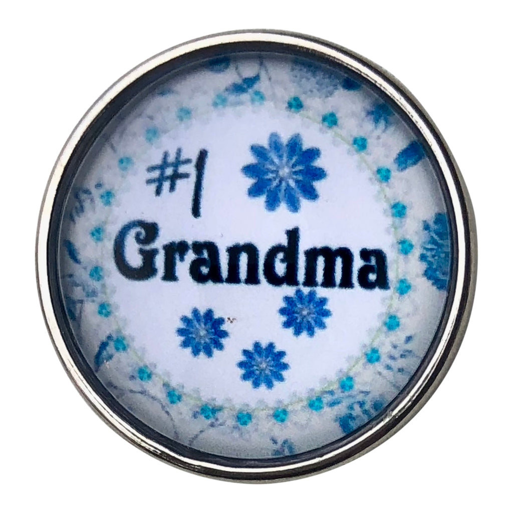 #1 Grandma Snap - Gracie Roze Yourself Expression Snap Jewelry