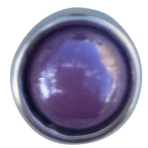 Gloss Purple Mini Snap - Gracie Roze Yourself Expression Snap Jewelry