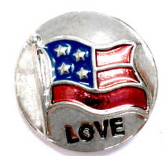 American Love Flag Standard Popper