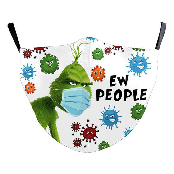 Ew People Adult Adjustable Face Mask - Gracie Roze