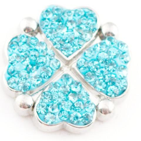 Blue Heart Clover Popper