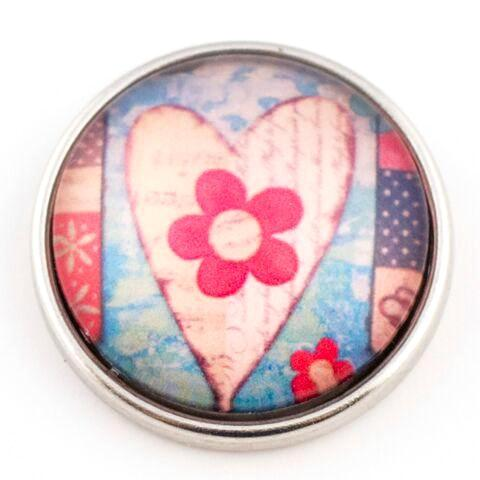 Floral Heart Snap - Gracie Roze