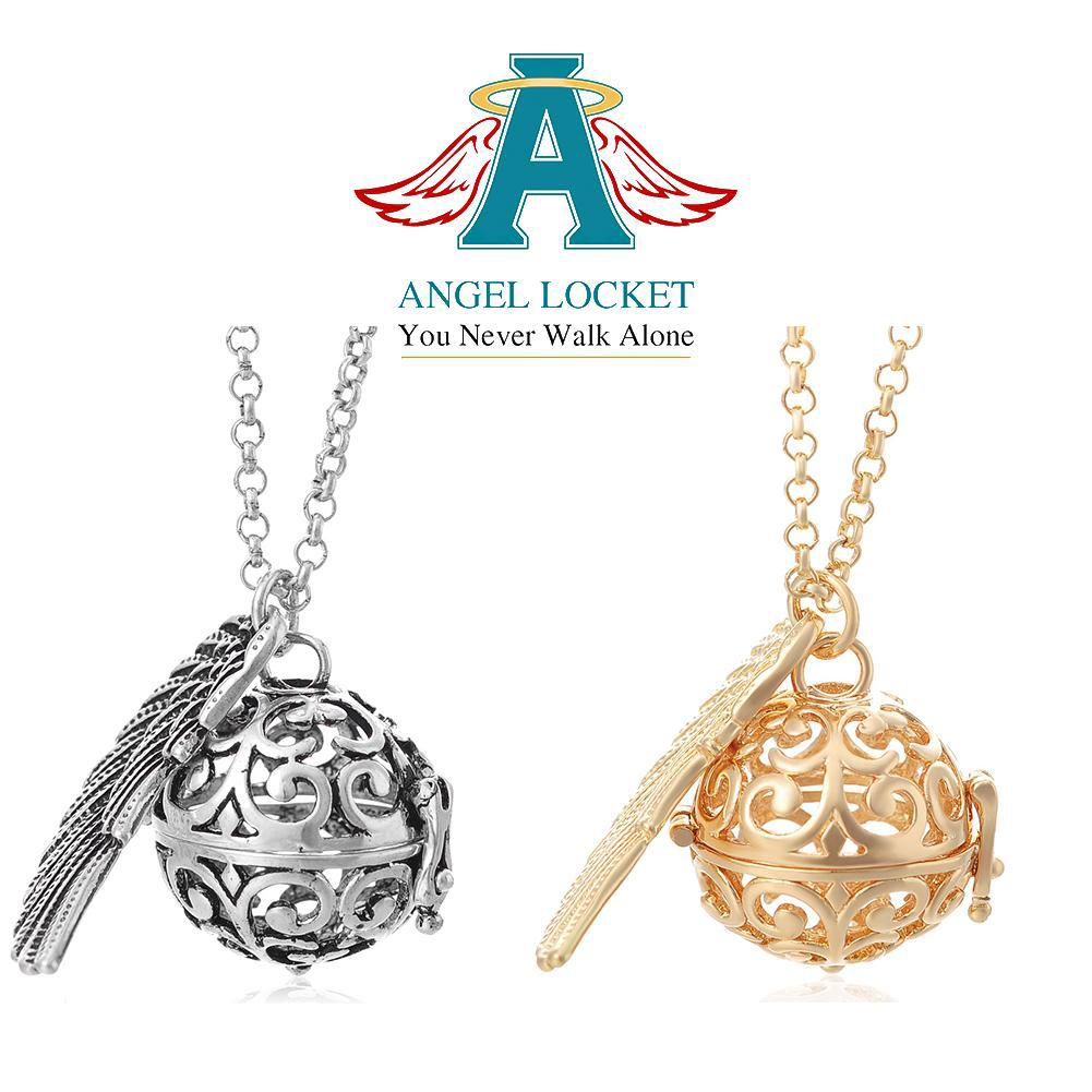 Wing On Side Angel Locket