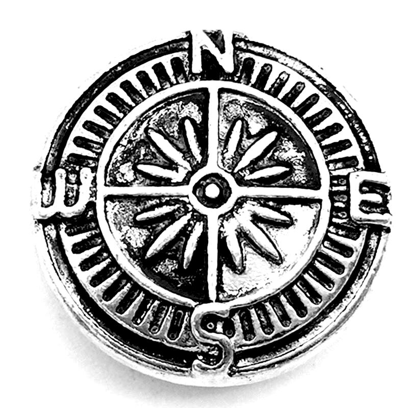 Metal Compass Snap