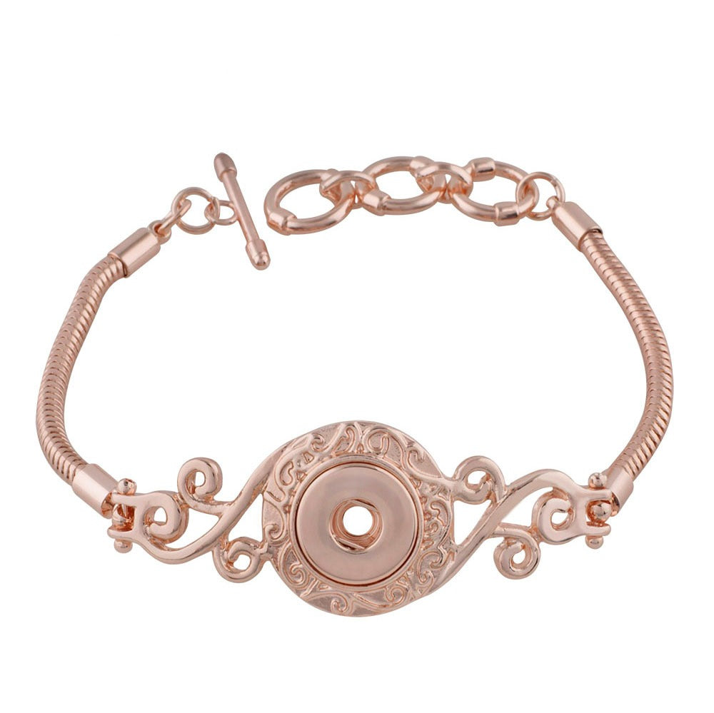 Rose Gold Vine Mini Bracelet - Gracie Roze
