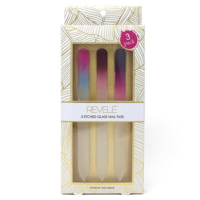 Etched Glass Nail Files - Gracie Roze