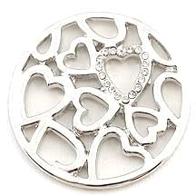 Plenty of Silver Hearts Coin - Gracie Roze