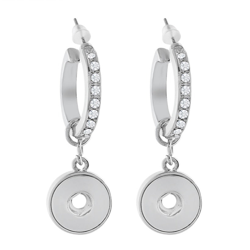 Crystal Hoop Mini Earrings - Gracie Roze