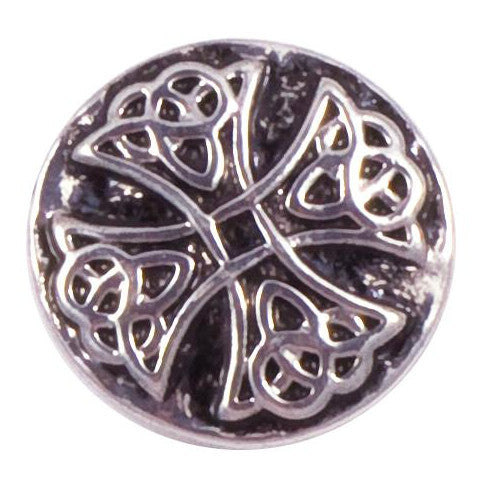 Celtic Metal Wide Cross snap