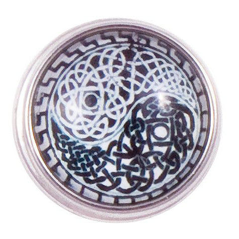 Celtic Ying and Yang Snap - Gracie Roze Yourself Expression Snap Jewelry