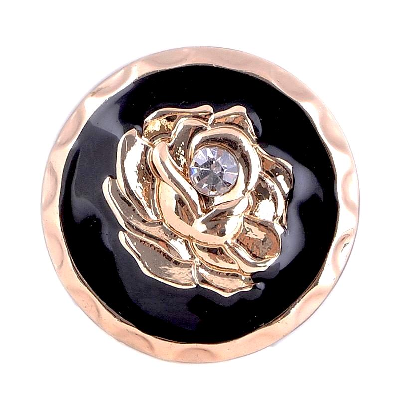 Gold Flower Snap - Gracie Roze