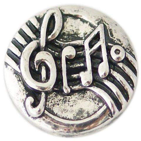 Metal Music Note Popper