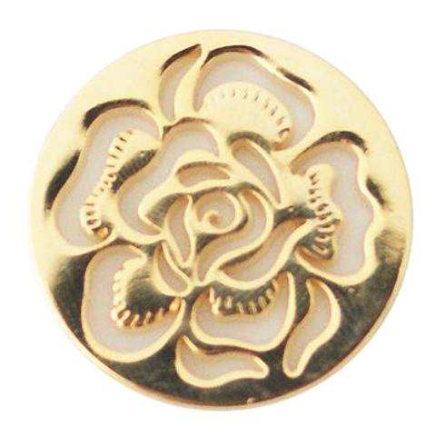 Golden Rose Coin for Coin Locket