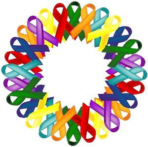 Ribbons for a Cure  Popper