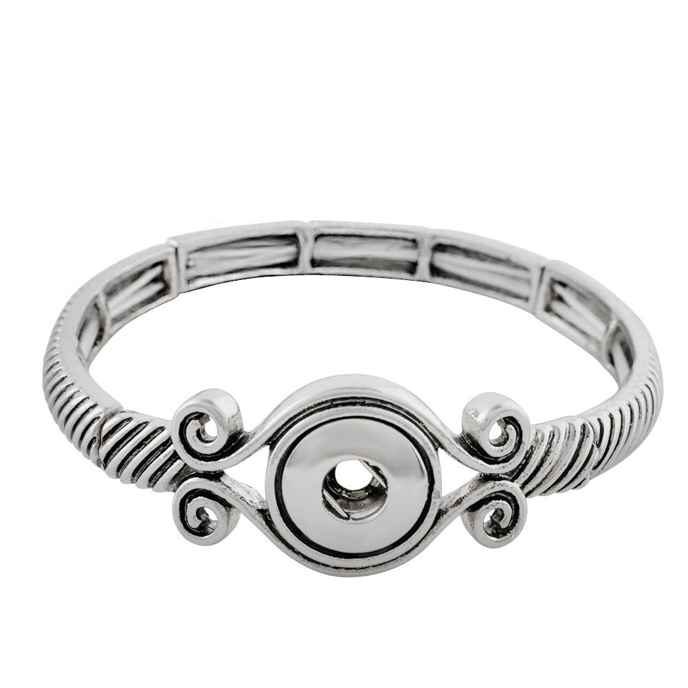 Scroll Stretch Mini Bracelet - Gracie Roze