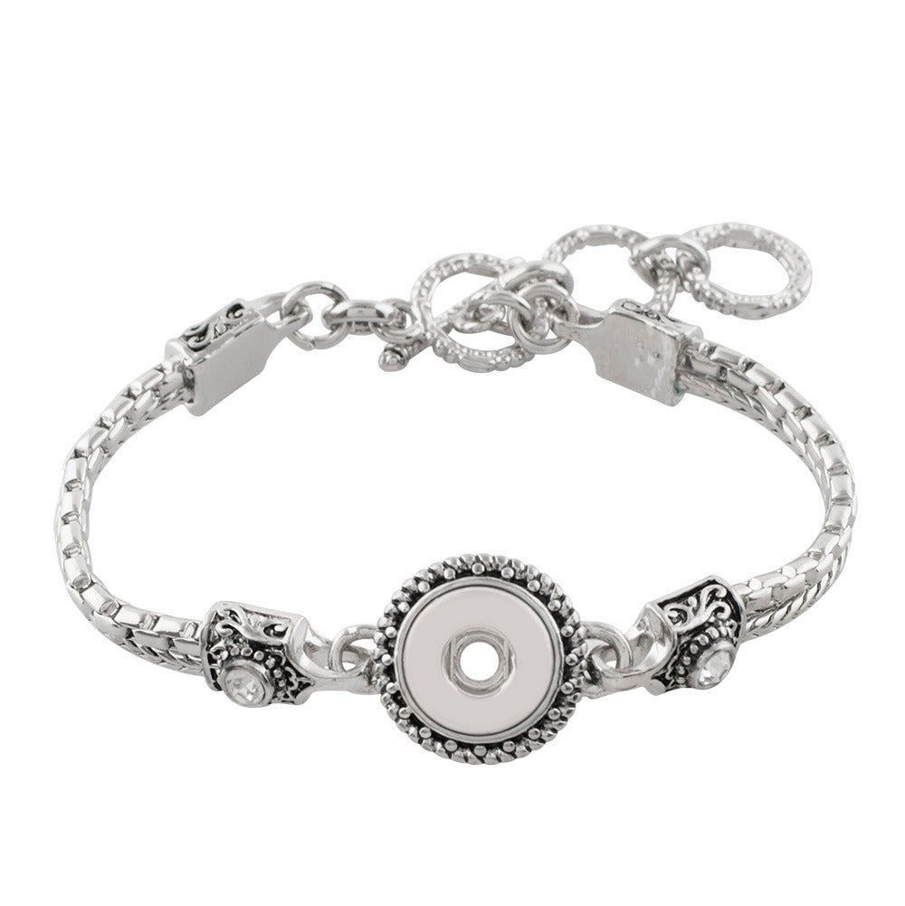 Fancy Toggle Mini Bracelet - Gracie Roze