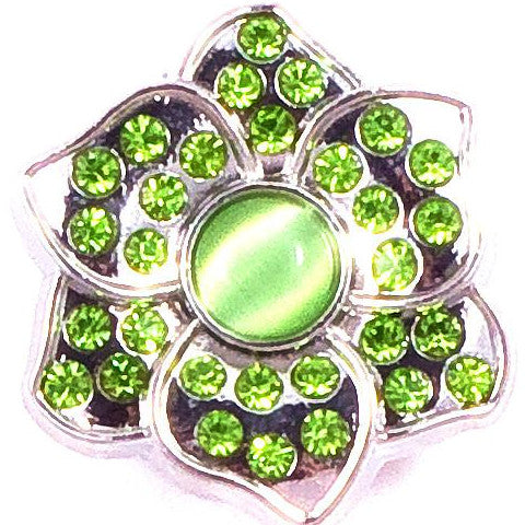 Lime Green Crystal Petal Popper