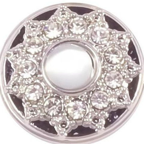 Princess Pearl White Crystal Popper