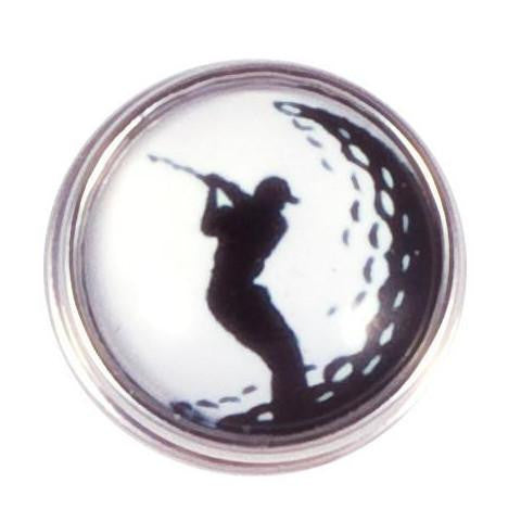 Black and White Golf Popper
