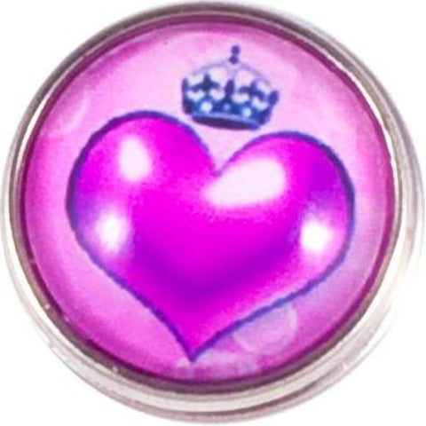 Princess Heart Purple snap