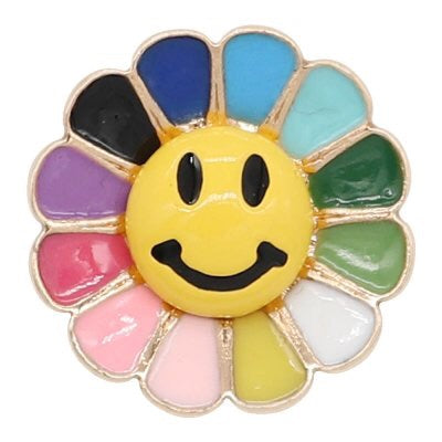 Happy Sunshine Snap - Gracie Roze Yourself Expression Snap Jewelry