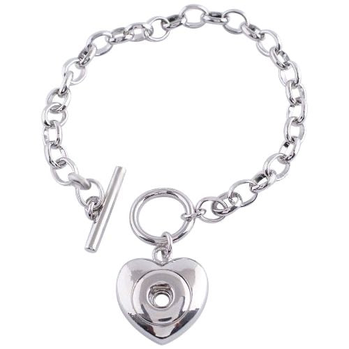 Heart Toggle Mini Bracelet - Gracie Roze