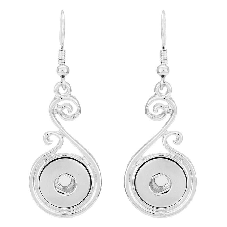 Scroll Dangle Mini Earrings - Gracie Roze
