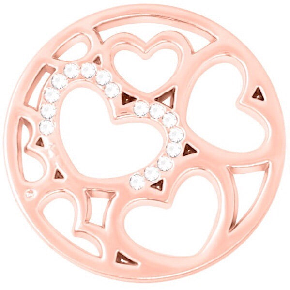 Rose Gold - Hearts to Hold Coin - Gracie Roze