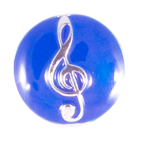 Blue Metal Music Popper