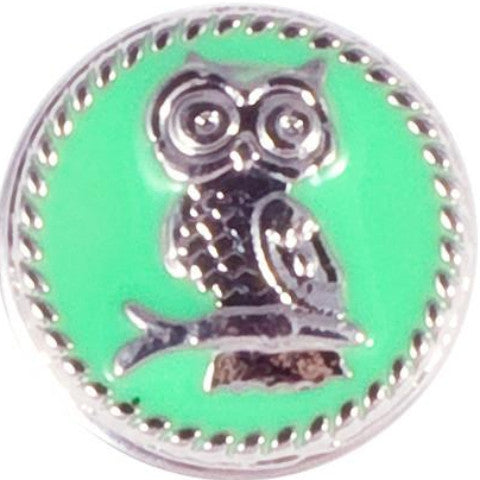 Mint Green Owl Snap