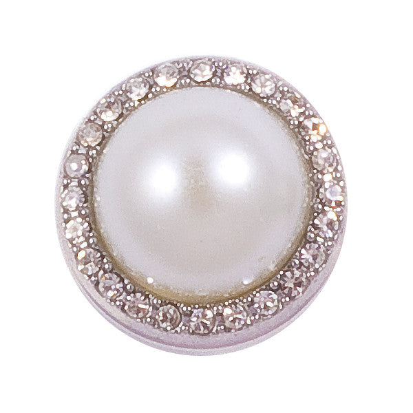 Pearl with Crystals Snap - Gracie Roze