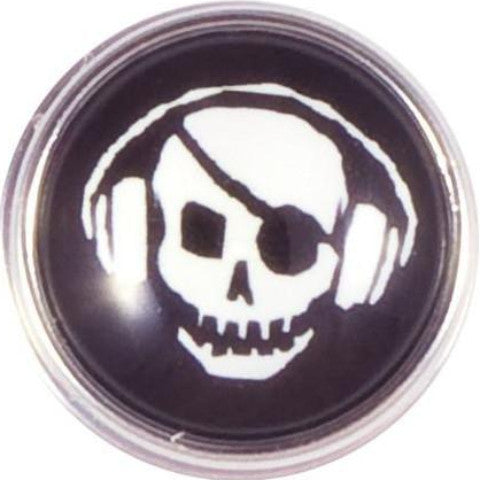 Radio Skull and Crossbones Popper