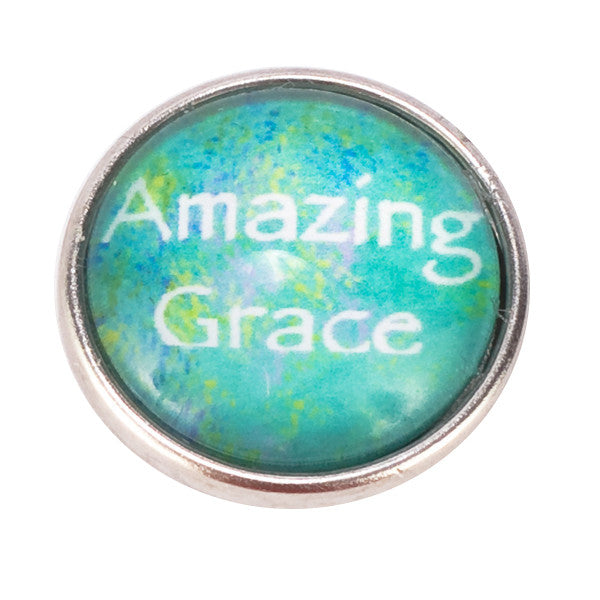 Amazing Grace Snap - Gracie Roze Yourself Expression Snap Jewelry