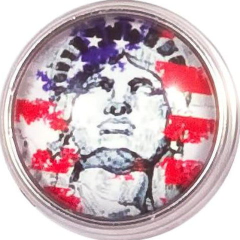 Lady Liberty Snap - Gracie Roze Yourself Expression Snap Jewelry