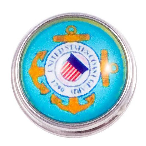 Coast Guard Snap - Gracie Roze Yourself Expression Snap Jewelry